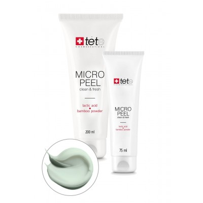 Micro Peel Мягкий эксфолиант с молочной/гликолевой кислотами и бамбуковой пудрой 75 мл