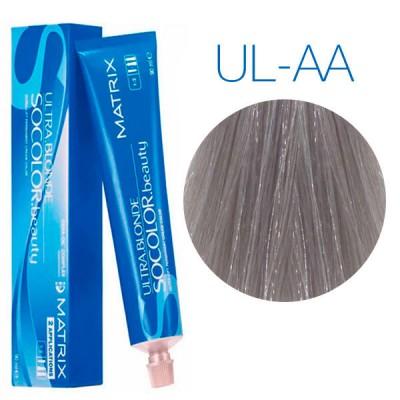 Matrix SoColor Beauty Ultra Light Blondes UL-AA (Глубокий пепельный) - Крем-краска для волос